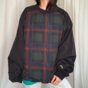 Gortex Plaid Pullover
